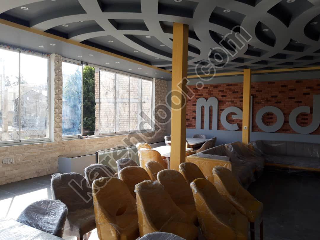 پروژه شیشه بالکن کافه ملودی